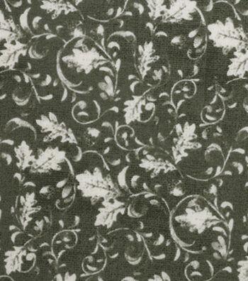 "Harvest Cotton Fabric 43""-Tonal Vines"