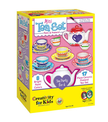 Creativity for Kids Kit-Mini Tea Set