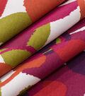 Robert Allen @ Home Lightweight Decor Fabric 55\u0022-Abstract Flora Poppy