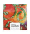 Fabric-Quarters Assorted Batik Fabric-Red