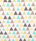 Doodles Cotton Fabric 57\u0022-Triangles