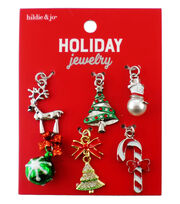 hildie & jo Holiday 6 pk Deer & Multi Charms, , hi-res