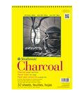 Strathmore Charcoal Paper Pad 9\u0022X12\u0022-64lb White 32 Sheets