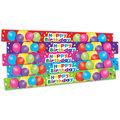 Happy Birthday Balloons Slap Bracelets, 10 Per Pack, 6 Packs