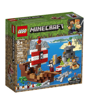LEGO Minecraft The Pirate Ship Adventure Set