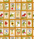 Novelty Cotton Fabric-Homegrown Seed Packets
