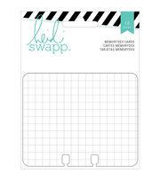 Memorydex Cards 18/Pkg-Wanderlust Grid, Line & Ledger/6 Each, , hi-res