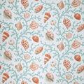 Home Decor 8\u0022x8\u0022 Fabric Swatch-Eaton Square Coral & Shells-Teal Opt