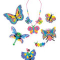 Perler Bead Set-Rainbow Butterflies