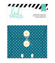 Memorydex Envelope Cards W/String Closure 6/Pkg-Wanderlust, , hi-res