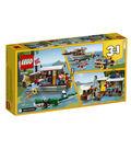 LEGO Creator 3-in-1 Riverside Houseboat Set