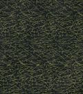 Premium Wide Cotton Fabric-Metallic Bamboo on Black