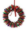 Maker\u0027s Holiday Christmas Pom Pom Wreath