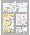 Nursery Cotton Fabric -Pooh Patch