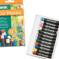Pro Art Oil Pastels 12 Pack-Assorted Colors