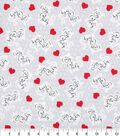 Novelty Cotton Fabric -Crazy Cat Lady