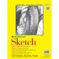 Strathmore Sketch Paper Pad 14\u0022X17\u0022-50lb 100 Sheets