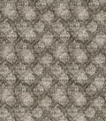 Vintage Cotton Fabric -Green Distressed Damask