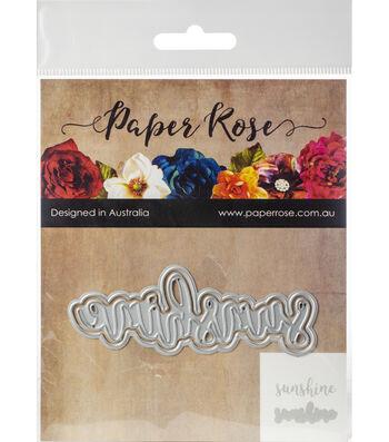 Paper Rose 2 pk Layered Metal Dies-Sunshine