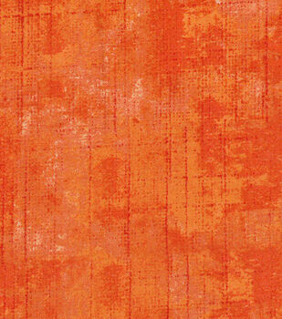 Keepsake Calico Cotton Fabric 43''-Orange Tonal Blender