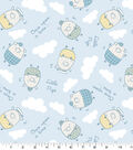 Snuggle Flannel Fabric-Little Pigs