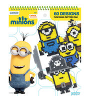 Perler Minions Fused Bead Pattern Pad with 60 Designs, , hi-res