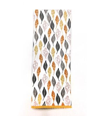 Simply Autumn 16''x28'' Towel-Multi Leaves