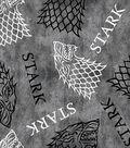 Game of Thrones Fleece Fabric 59\u0022-House Stark