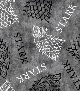 Game of Thrones Fleece Fabric-House Stark