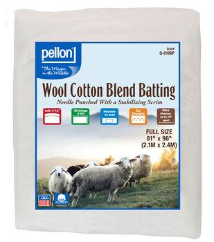 Pellon 50/50 Wool Blend Batting-Full