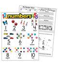 Numbers Learning Chart 17\u0022x22\u0022 6pk