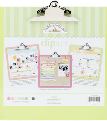 Doodlebug Clipart Monochromatic Clipboard
