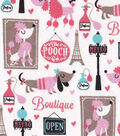 Snuggle Flannel Fabric -The Pooch Cafe