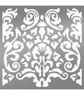 Ultimate Crafts Bohemian Bouquet 6\u0027\u0027x6\u0027\u0027 Stencil-Bohemian Damask