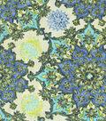 Home Decor 8\u0022x8\u0022 Fabric Swatch-Waverly Incense Wheel/Prussian