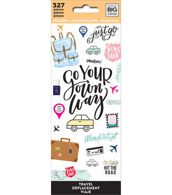 The Happy Planner Stickers-Travel
