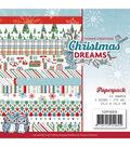 Find It Trading Paper Pack 6\u0022X6\u0022 23/Pkg-Christmas Dreams