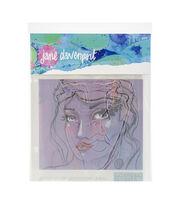 Jane Davenport Artomology Stencils-Good Face, , hi-res
