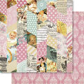 Bella! Baby Girl Double-Sided Cardstock-Montage