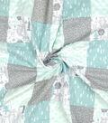 Nursery Quilt Patchwork Fabric-Woods