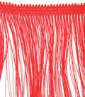 Wrights Fringe Trim 4\u0022W-10yds/Red