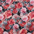 Sew Sweet Taffeta Fabric-Printed Floral Holiday