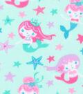 Blizzard Fleece Fabric 59\u0027\u0027-Mermaids of the Sea