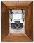 Acacia Wood Frame 4x6-Brown Wedge