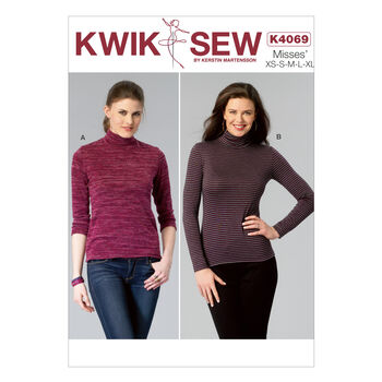 Kwik Sew Misses Top-K4069