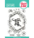 Avery Elle 11 pk Clear Stamps-Blooming