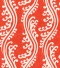 Home Decor 8\u0022x8\u0022 Swatch Fabric-Waverly Turning Tides lantern Red