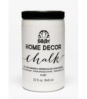 Folkart Home Decor Chalk 32oz-White Adirondack, , hi-res