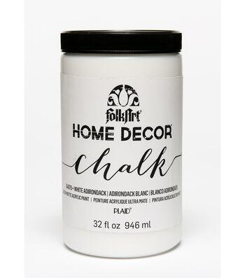 Folkart Home Decor Chalk 32oz-White Adirondack