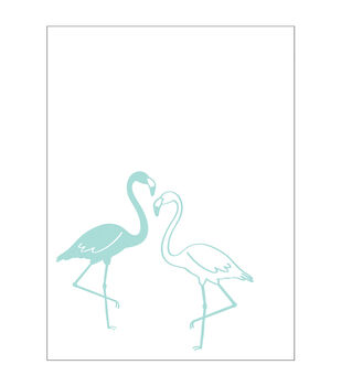 Park Lane A2 Embossing Folder-Flamingos